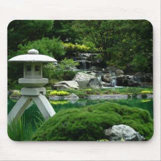Japanese Garden Mouse Pads