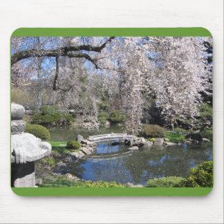 Japanese garden mousepad