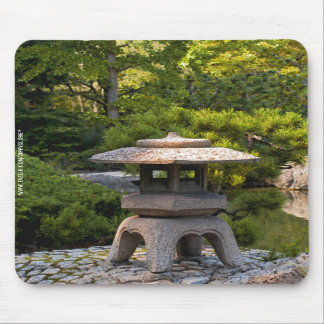 Japanese Garden Mouse Pad