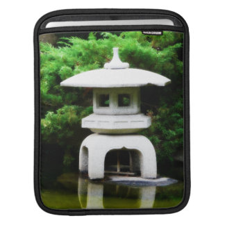 Japanese Garden Pagoda Ornament Sleeve For iPads
