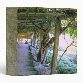 "Japanese Garden Path/Arbor 1.5"" Binder"
