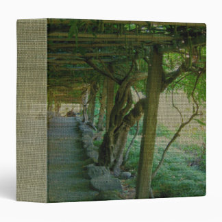 Japanese Garden Path/Arbor (Textured) Binder