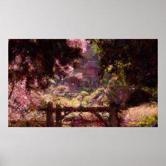 Japanese Garden Path Print