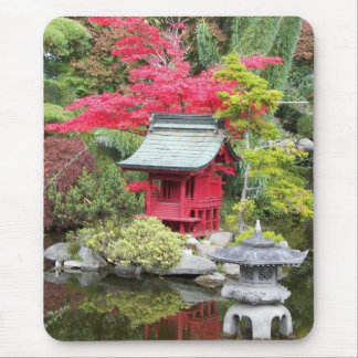 Japanese Garden Photo Mouse Pad