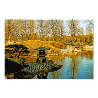 Japanese Garden Photo Art