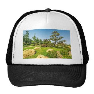 Japanese Garden Pine Tree Trucker Hat