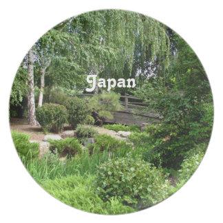 Japanese Garden Plate