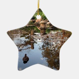 Japanese garden ornaments keepsake ornaments zazzle Pond ornaments