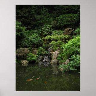Japanese Garden Portland, OR Poster