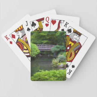 Japanese Garden, Portland, Oregon, USA 2 Playing Cards