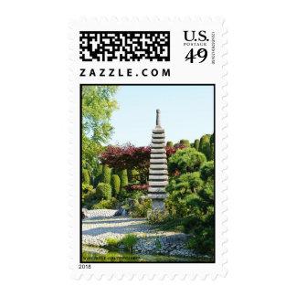 Japanese Garden Postage Stamp