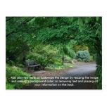 Japanese Garden postcard 2