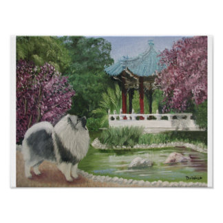 Japanese Garden Print