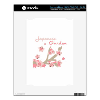 Japanese Garden Decal For The NOOK