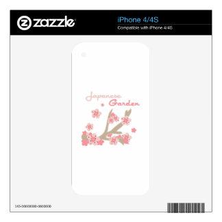 Japanese Garden iPhone 4S Skins