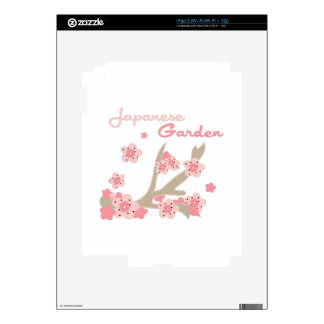 Japanese Garden Decal For The iPad 2