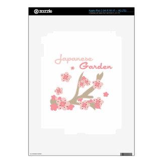 Japanese Garden Decals For iPad 3