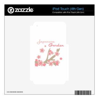 Japanese Garden Skins For iPod Touch 4G