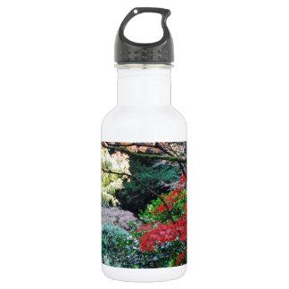 Japanese Garden Stainless Steel Water Bottle