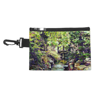 Japanese Garden With Bridge and Stream Accessory Bag