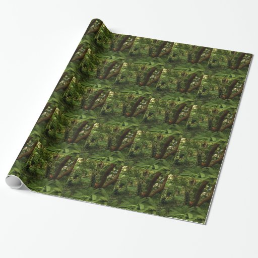 Japanese Garden Wrapping Paper Zazzle