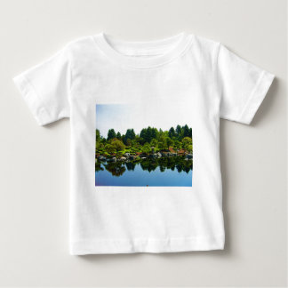 Japanese Gardens at the Denver Botanical Gardens. Baby T-Shirt
