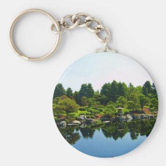 Japanese Gardens at the Denver Botanical Gardens. Keychain