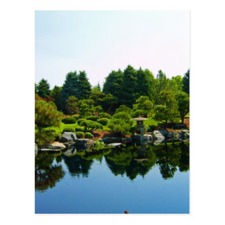 Japanese Gardens at the Denver Botanical Gardens. Postcard