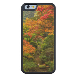 Japanese Gardens In Autumn In Portland, Oregon 2 Carved Maple iPhone 6 Bumper Case