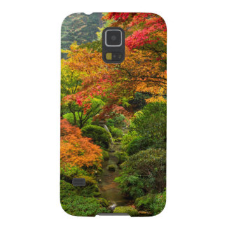 Japanese Gardens In Autumn In Portland, Oregon 2 Galaxy S5 Cover