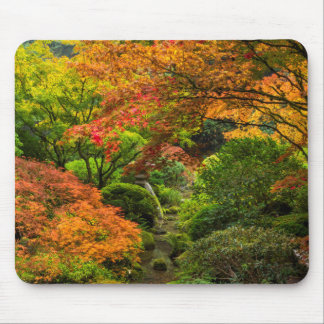 Japanese Gardens In Autumn In Portland, Oregon 2 Mouse Pad