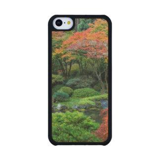 Japanese Gardens In Autumn In Portland, Oregon 3 Carved® Maple iPhone 5C Slim Case