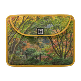 Japanese Gardens In Autumn In Portland, Oregon 4 MacBook Pro Sleeve