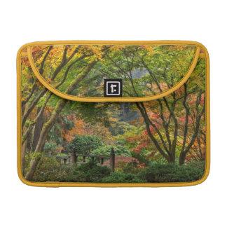 Japanese Gardens In Autumn In Portland, Oregon 4 MacBook Pro Sleeve