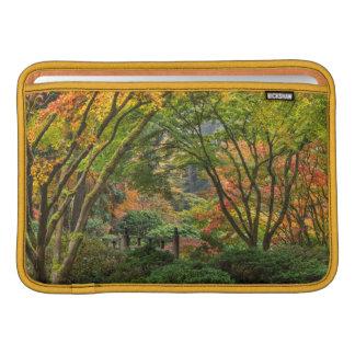 Japanese Gardens In Autumn In Portland, Oregon 4 Sleeve For MacBook Air