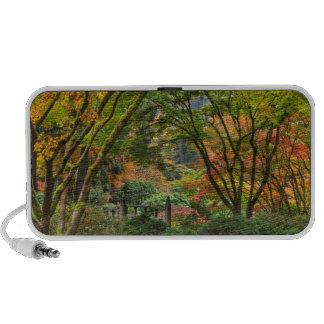 Japanese Gardens In Autumn In Portland, Oregon 4 Travelling Speaker