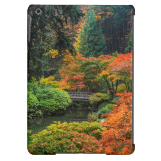 Japanese Gardens In Autumn In Portland, Oregon 5 iPad Air Covers