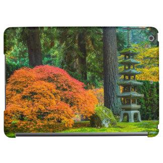 Japanese Gardens In Autumn In Portland, Oregon iPad Air Cover