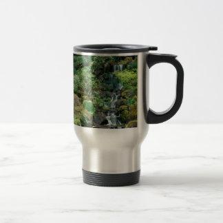 japanese gardens 15 oz stainless steel travel mug