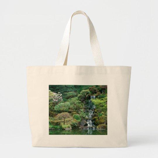 Japanese Gardens Portland, Oregon Large Tote Bag