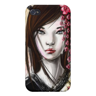 Japanese Geisha 7 Asian Kimono Anime iPhone 4 Cover