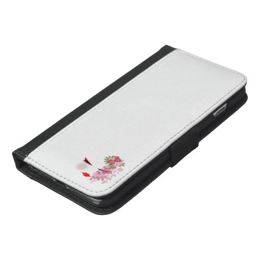 Japanese Geisha and cheery blossom Iphone Case