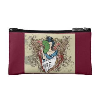 Japanese Geisha Angel Medium Cosmetic Bag