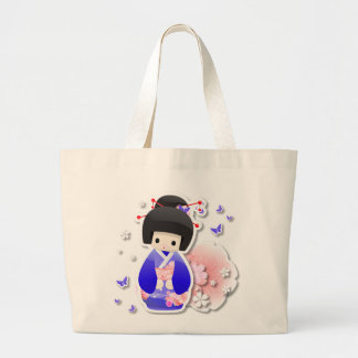 Japanese Geisha Doll - Blue Series Bag
