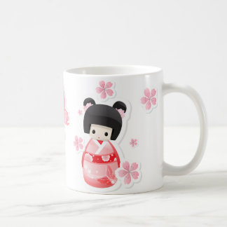 Japanese Geisha Doll - buns series Coffee Mug
