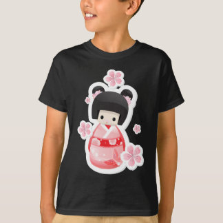 Japanese Geisha Doll - buns series T-Shirt