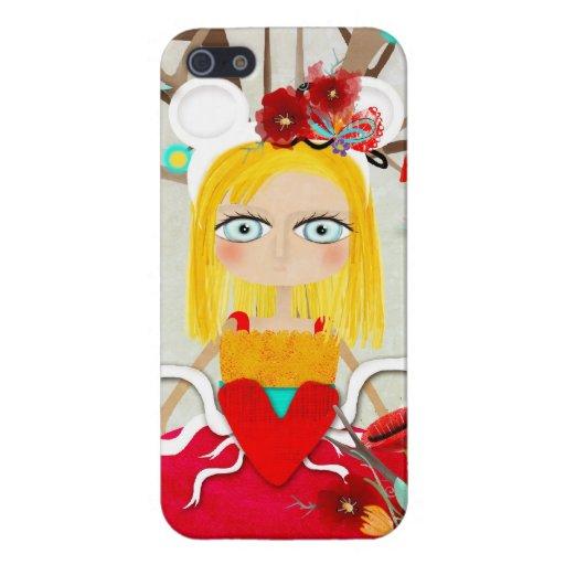 Japanese Geisha Doll - Sakura iPhone 5 Covers