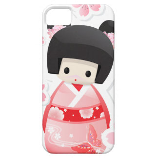 Japanese Geisha Doll type A iPhone 5 Case