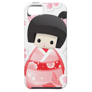 Japanese Geisha Doll type A iPhone 5 Case Vibe