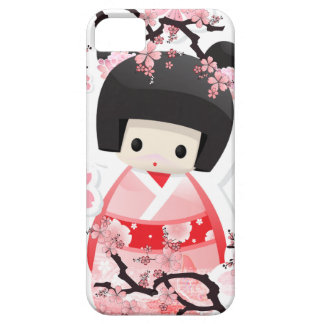 Japanese Geisha Doll type B iPhone 5 Case Vibe